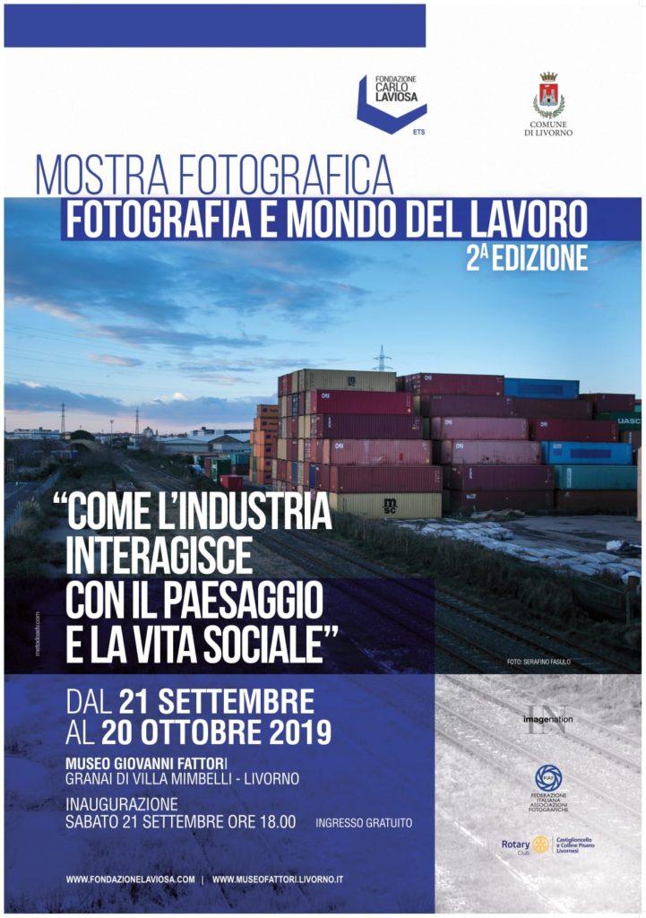 Manifesto Fotografia e mondo del lavoro 2° edizione