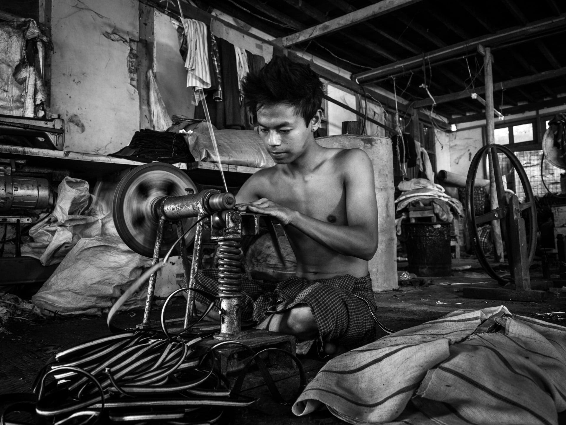 La fabbrica di Calzature di Marco Marcone